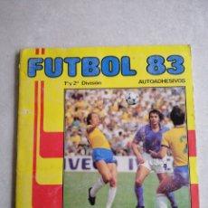 Álbum de fútbol completo: ÁLBUM FÚTBOL 83. Lote 254433150