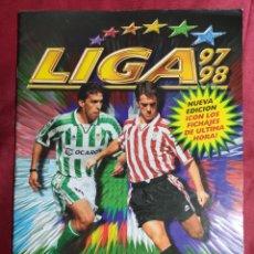 Álbum de fútbol completo: ALBUM DE CROMOS COMPLETO. LIGA 97 98 1997 1998. EDICIONES ESTE.. Lote 254622280