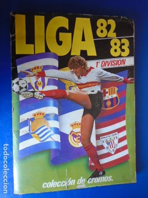 Álbum de fútbol completo: (AL-210400)ALBUM CROMOS FUTBOL LIGA 83-83 - EDITORIAL ESTE - DOBLES - COLOCAS - RAREZAS - Foto 2 - 254887820
