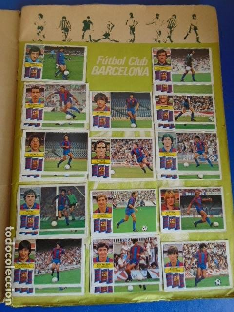 Álbum de fútbol completo: (AL-210400)ALBUM CROMOS FUTBOL LIGA 83-83 - EDITORIAL ESTE - DOBLES - COLOCAS - RAREZAS - Foto 3 - 254887820
