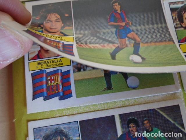Álbum de fútbol completo: (AL-210400)ALBUM CROMOS FUTBOL LIGA 83-83 - EDITORIAL ESTE - DOBLES - COLOCAS - RAREZAS - Foto 6 - 254887820