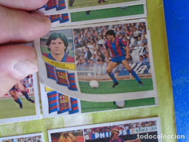 Álbum de fútbol completo: (AL-210400)ALBUM CROMOS FUTBOL LIGA 83-83 - EDITORIAL ESTE - DOBLES - COLOCAS - RAREZAS - Foto 12 - 254887820