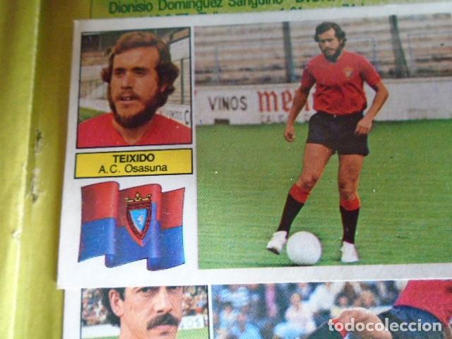 Álbum de fútbol completo: (AL-210400)ALBUM CROMOS FUTBOL LIGA 83-83 - EDITORIAL ESTE - DOBLES - COLOCAS - RAREZAS - Foto 74 - 254887820