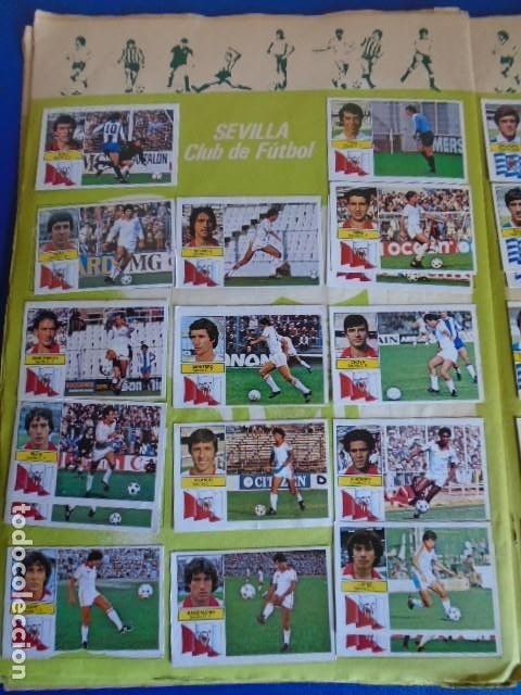Álbum de fútbol completo: (AL-210400)ALBUM CROMOS FUTBOL LIGA 83-83 - EDITORIAL ESTE - DOBLES - COLOCAS - RAREZAS - Foto 91 - 254887820