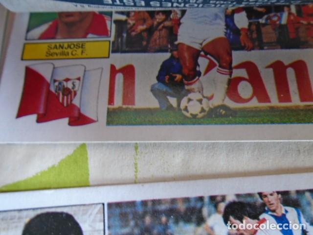 Álbum de fútbol completo: (AL-210400)ALBUM CROMOS FUTBOL LIGA 83-83 - EDITORIAL ESTE - DOBLES - COLOCAS - RAREZAS - Foto 95 - 254887820