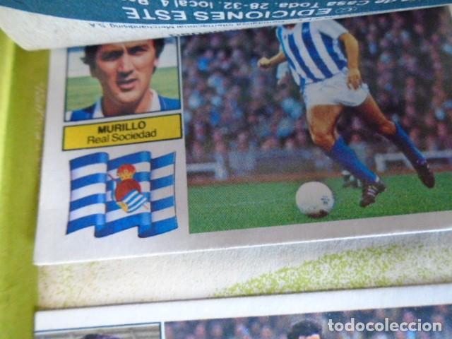 Álbum de fútbol completo: (AL-210400)ALBUM CROMOS FUTBOL LIGA 83-83 - EDITORIAL ESTE - DOBLES - COLOCAS - RAREZAS - Foto 100 - 254887820