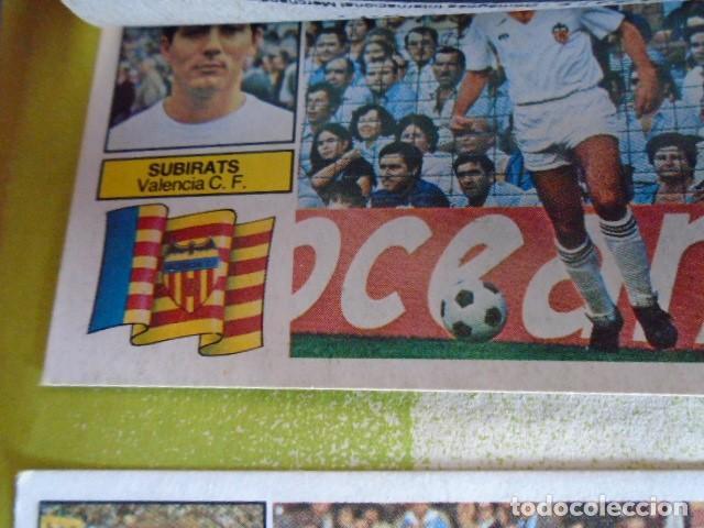 Álbum de fútbol completo: (AL-210400)ALBUM CROMOS FUTBOL LIGA 83-83 - EDITORIAL ESTE - DOBLES - COLOCAS - RAREZAS - Foto 105 - 254887820