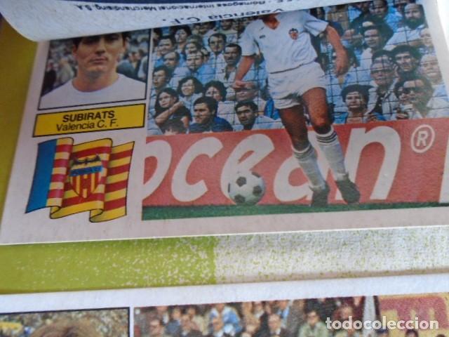 Álbum de fútbol completo: (AL-210400)ALBUM CROMOS FUTBOL LIGA 83-83 - EDITORIAL ESTE - DOBLES - COLOCAS - RAREZAS - Foto 128 - 254887820