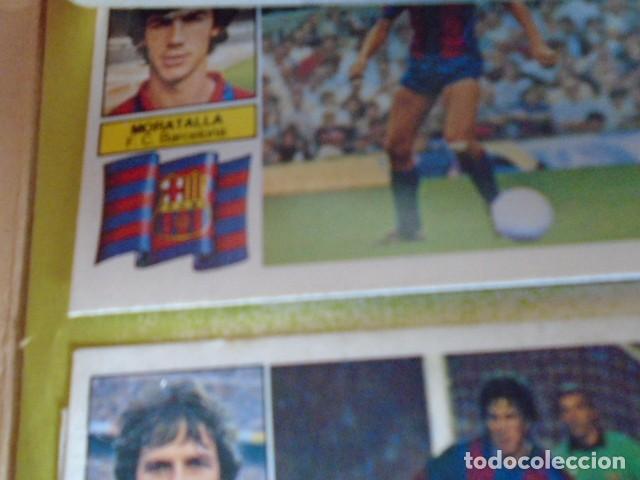 Álbum de fútbol completo: (AL-210400)ALBUM CROMOS FUTBOL LIGA 83-83 - EDITORIAL ESTE - DOBLES - COLOCAS - RAREZAS - Foto 137 - 254887820