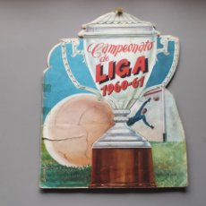 Álbum de fútbol completo: ALBUM COMPLETO FHER DISGRA LIGA 60 61 1960 1961 MUY DIFÍCIL. Lote 254930805