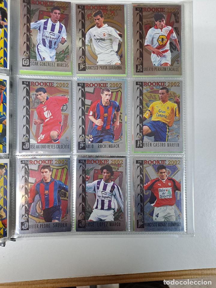 Álbum de fútbol completo: MUNDICROMO TOP 2002 ALBUM COMPLETO CON ROOKIES - Foto 4 - 255509890