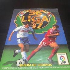 Álbum de fútbol completo: ALBUM DE LIGA ESTE 96-97 - COMPLETO CON 45 DOBLES Y TODOS LOS FICHAJES. Lote 257470025