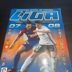 Álbum de fútbol completo: ÁLBUM LIGA ESTE 2007-2008 -COMPLETO CON 122 CROMOS DOBLES Y TODOS LOS FICHAJES DE INVIERNO. Lote 257487530