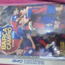 Álbum de fútbol completo: ALBUN COMPLETO MGKS BARCA CAMPION 2004/05. Lote 257909430