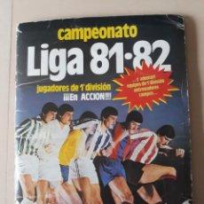 Álbum di calcio completo: ALBUM LIGA ESTE 1981 1982 81 82 COMPLETO CON 356 CROMOS. Lote 257937815