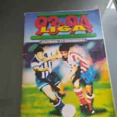 Álbum di calcio completo: ALBUM 93 94 EDICIONES ESTE COMPLETO CON COLOCAS MUY DIFÍCILES. Lote 258143165