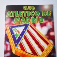Album de football complet: ESTE 1996 ALBUM ATLÉTICO DE MADRID TODA SU HISTORIA EN CROMOS. 100% COMPLETO (1903-1996). Lote 260016325