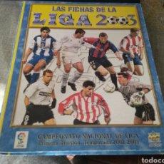 Álbum de fútbol completo: MUNDICROMO 2003- CASI COMPLETO ( ROOKIE , TORRES, RONALDO, ETC.) LEER. Lote 260315590