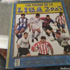 Álbum de fútbol completo: MUNDICROMO 2003- CASI COMPLETO ( CON LAS DOS CARDS ROOKIE DE F. TORRES, ETC.) LEER. Lote 260316455
