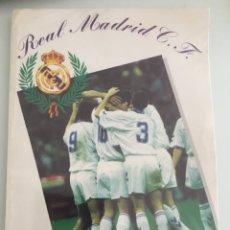 Álbum de fútbol completo: ÁLBUM COMPLETO REAL MADRID 94 95 + 12 FIRMAS. Lote 260568535