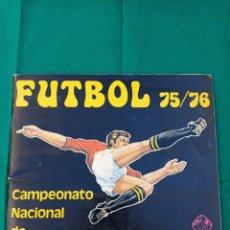 Álbum de fútbol completo: ALBUM FUTBOL 75-76 VULCANO COMPLETO 1975-1976. Lote 261817030