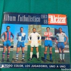 Álbum de fútbol completo: ALBUM FUTBOL FUTBOLÍSTICO 1967-68 DIARIO EL ALCAZAR COMPLETO. Lote 261821090
