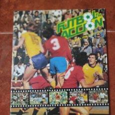 Álbum de fútbol completo: ÁLBUM COMPLETO FÚTBOL EN ACCIÓN COMPLETO CON MARADONA. Lote 262243600
