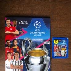 Álbum de fútbol completo: ALBUM TOPPS FUTBOL UEFA CHAMPIONS LEAGUE 2020-2021 COMPLETO 20-21 MUY BUEN ESTADO. Lote 262422270