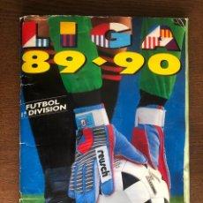 Álbum de fútbol completo: ALBUM LIGA ESTE FUTBOL 89-90 COMPLETO 1989-1990 CON 45 CROMOS DOBLES. Lote 262423210