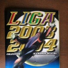 Álbum de fútbol completo: ALBUM LIGA ESTE FUTBOL 03-04 SUPER COMPLETO 2003-2004 CON TODO LO EDITADO MENOS 3 CROMOS. Lote 262429690