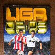 Álbum de fútbol completo: ALBUM LIGA ESTE FUTBOL 02-03 SUPER COMPLETO 2002-2003 CON TODO LO EDITADO MENOS 3 CROMOS. Lote 262432985