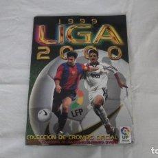 Álbum de fútbol completo: ALBUM LIGA 1999/2000 COLECCIONES ESTE. FLP. Lote 262437475