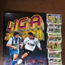Álbum de fútbol completo: ALBUM LIGA ESTE FUTBOL 00-01 SUPER COMPLETO 2000-2001 CON 133 DOBLES Y 12 TRIPLES. Lote 262439155
