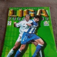 Álbum de fútbol completo: #ALBUM COMPLETO 2004 2005 CON LEO MESSI ROOKIE FC BARCELONA LA LIGA. Lote 262600590