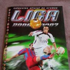 Álbum de fútbol completo: #ALBUM CASI COMPLETO 2006 2007 LA LIGA ESTE MESSI RONALDO. Lote 262601720