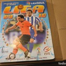 Álbum de fútbol completo: ALBUM FUTBOL LIGA 09 10 , EDITORIAL ESTE. Lote 262602405