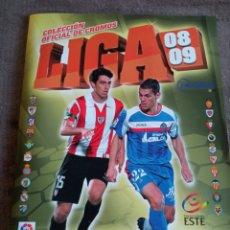Álbum de fútbol completo: #ALBUM COMPLETO LA LIGA ESTE 2008 2009 LEO MESSI. Lote 262602545