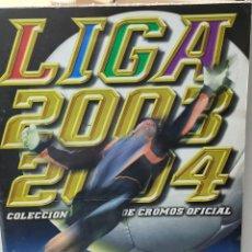 Álbum de fútbol completo: ÁLBUM COMPLETO LIGA 2003/04 ESTE PROMOCIÓN NUTELLA CON VARIOS DIFICILÍSIMOS. Lote 262803530