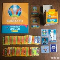 Álbum de fútbol completo: UEFA EURO 2020 2021 TOURNAMENT EDITION COLECCION COMPLETA 678 CROMOS NUEVOS SIN PEGAR ALBUM PLANCHA. Lote 264086480