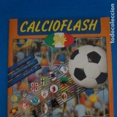 Álbum de fútbol completo: ALBUM COMPLETO DE FUTBOL LIGA FUTBOL CALCIO ITALIA CALCIOFLASH 94 DE EUROFLASH FIGURINE. Lote 264333364