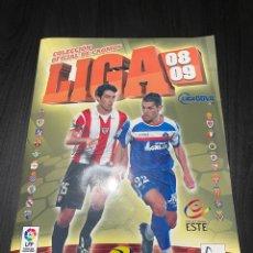 Álbum de fútbol completo: ÁLBUM LIGA ESTE 2008 - 2009 COMPLETO CON MUCHOS CROMOS DOBLES VER FOTOS. Lote 265371054