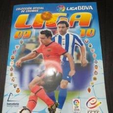 Álbum de fútbol completo: AMBUM LIGA ESTE 2009 - 2010 COMPLETO CON MUCHOS CROMOS DOBLES VER FOTOS. Lote 265372149