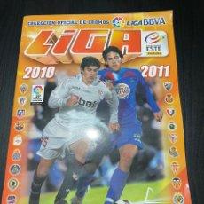 Álbum de fútbol completo: ÁLBUM LIGA ESTE 2010-2011 COMPLETO CON MUCHOS CROMOS DOBLES VER FOTOS. Lote 265372809
