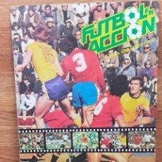 Álbum de fútbol completo: FUTBOL EN ACCION DANONE 82 ALBUM CROMOS COMPLETO. Lote 265426174