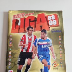 Álbum de fútbol completo: ÁLBUM LIGA 08-09 ESTE COMPLETISIMO. Lote 267266099