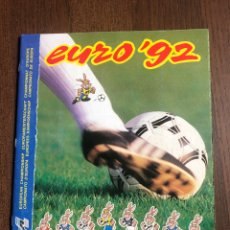 Álbum di calcio completo: ALBUM PANINI FUTBOL EURO EUROCOPA 92 COMPLETO BUEN ESTADO SIN ESCRITOS. Lote 267660494