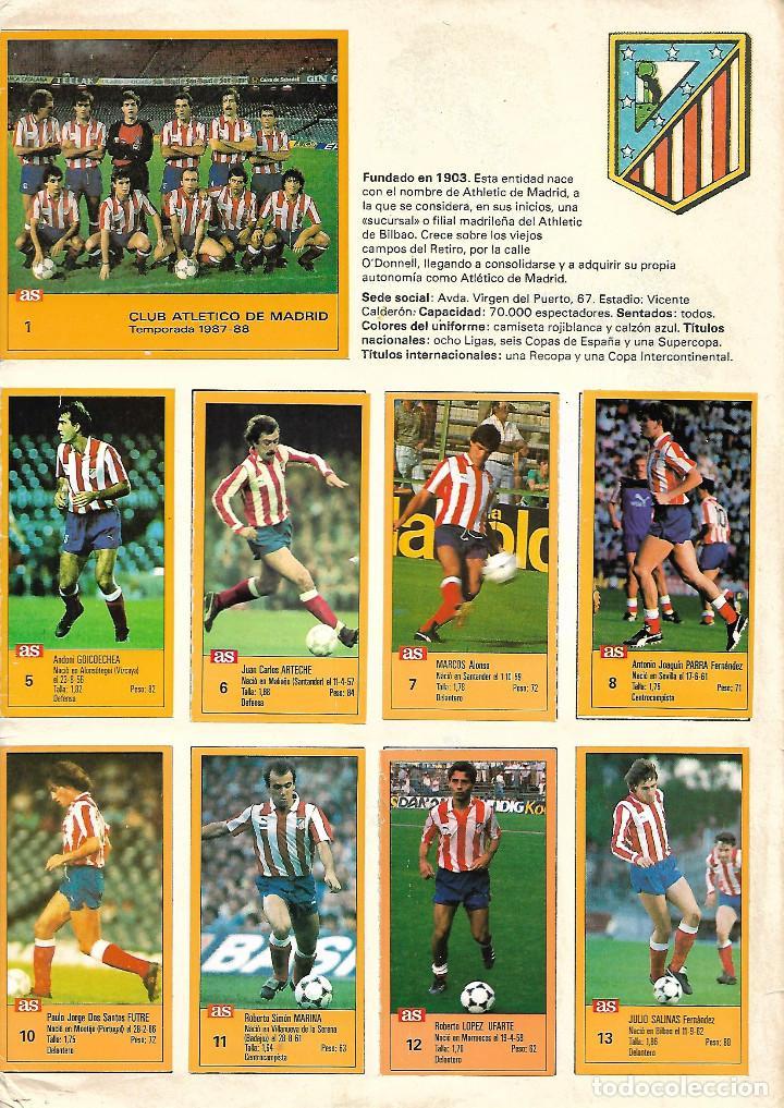 Álbum de fútbol completo: ALBUM COMPLETO DE LOS ASES DE LA LIGA 87/88 - Foto 2 - 46080579