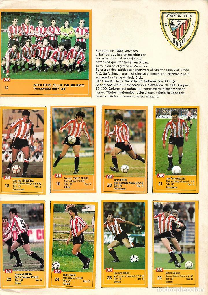 Álbum de fútbol completo: ALBUM COMPLETO DE LOS ASES DE LA LIGA 87/88 - Foto 3 - 46080579