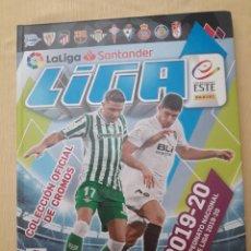 Álbum de fútbol completo: LIGA ESTE 19-20 COMPLETA EN ÁLBUM DE TAPA DURA CON EXTRAS (TODO LO EDITADO). Lote 267884584