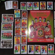 Álbum di calcio completo: COLECCION COMPLETA SIN PEGAR SELECCION ESPAÑOLA CARREFOUR. Lote 268157909